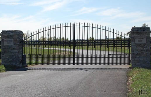 Entrance & Paddock Gates